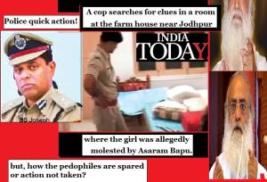 Asaram-bapu - quick police action