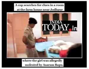 Asharam babu issue-IT photo