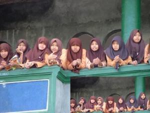 இந்தோனேசிய பள்ளிப் பெண்கள் - இன்னொரு வகை