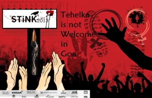 pressrelease-Tehelka not welcome in Goa