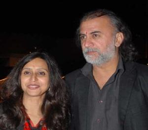 Shoma choudhury and Tarun Tejpal