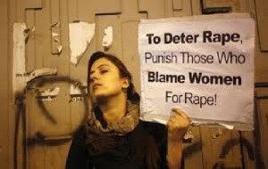 To deter rape punish those blame women for rape