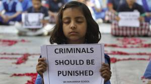 Coimbatore campaigning against crime against children