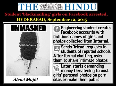 Addul Majid arrested - HYDERABAD, September 12, 2015