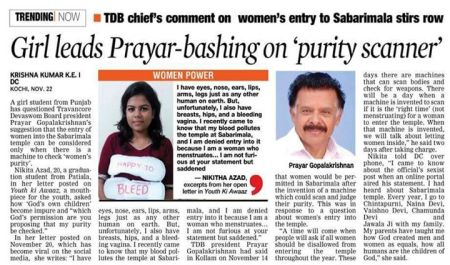 Prayar -bashing on purity scanner