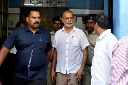 Bail - A file photo of Tarun Tejpal. Photo-Hindustan Times