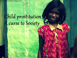 Child prostitution a curse to society