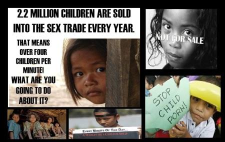 Child sold, child-prostitution etc