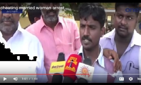 Selvakumar marrying Mariammal - with many witnesses-TV