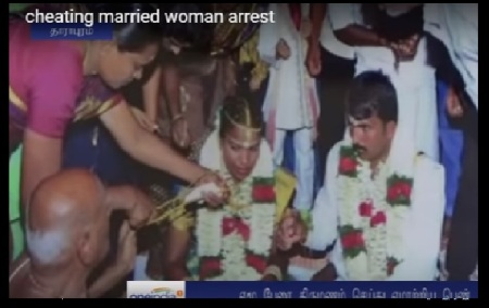 Selvakumar marrying Mariammal - with many witnesses