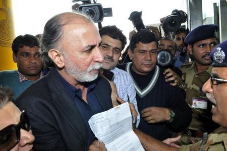 TarunTejpal-granted bail by SC