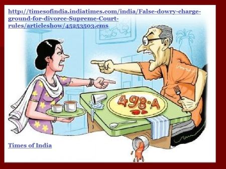 Times of India illustration 498-A