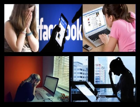 Facebook harassment of girls, women