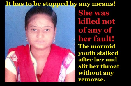 Sandhya was killed not of her faukt