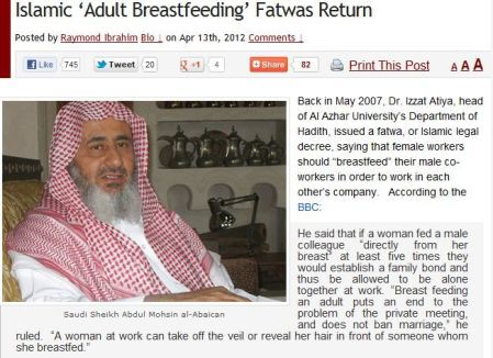 female-workers-breast-feed-male-workers-for-good-work