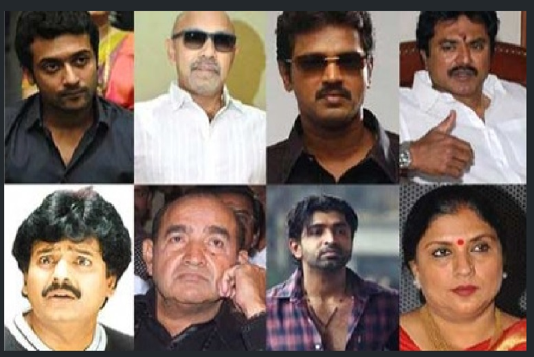 The Eight actors to be arrested