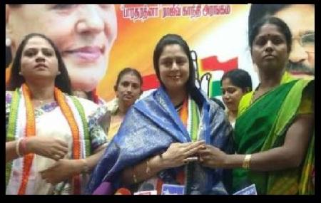 Congress women wing leaders fight - 06-06-2017-6