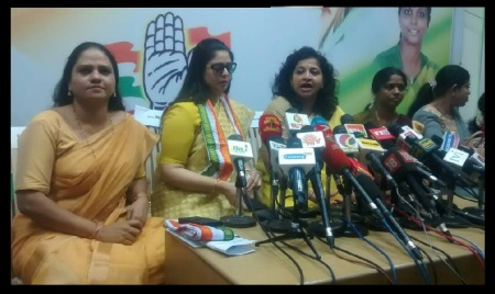Congress women wing leaders fight - 06-06-2017-7