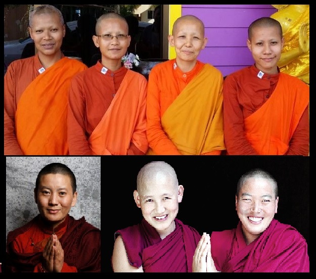 Buddhist women- illustrative purpose-3