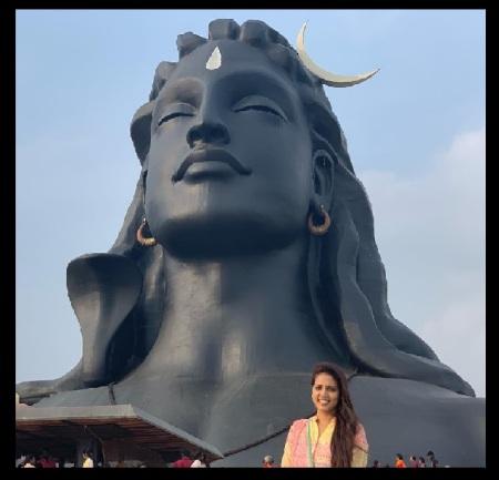 Panimalar, Siva statue - double stand