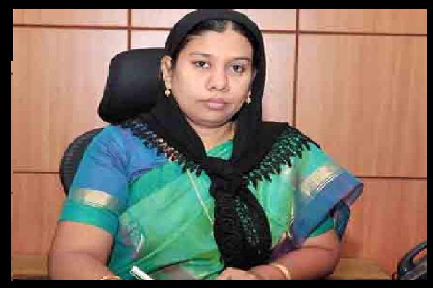 Ashiya Mariam, Salem collector - everythig OK- baby adoption