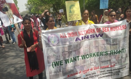 Sex workers - demanding their rights